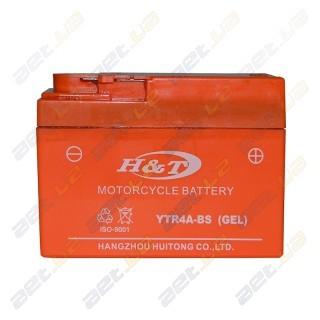 H&T YTR4A-BS 12v 2.3Ah R+