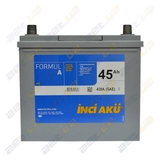 INCI-AKU Formul A 45Ah JL+ 430A