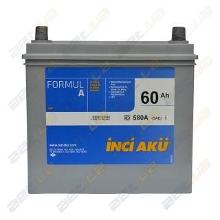 INCI-AKU Formul A 60Ah JR+ 540A