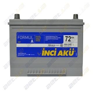 INCI-AKU Formul A 72Ah JR+ 600A