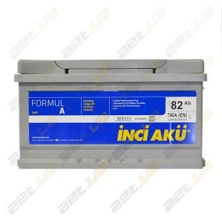 INCI-AKU Formul A 82Ah R+ 740A (низкобазовый)