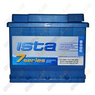 Ista 7 series 52Ah L+ 510A (низкобазовый)