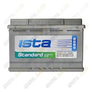 Ista Standard 77Ah L+ 720A