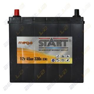 Mega Start 45Ah JL+ 330A (тонкая клемма)