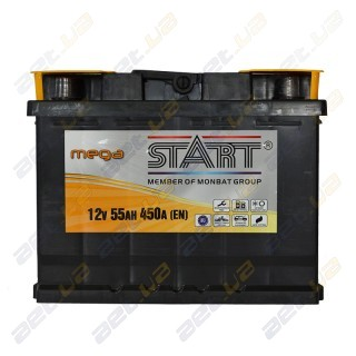 Mega Start 55Ah L+ 450A