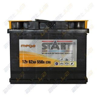 Mega Start 62Ah L+ 550A