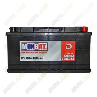 Monbat D 100Ah R+ 860A
