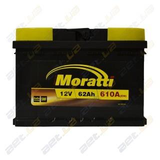 Moratti 62Ah L+ 610A
