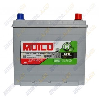 Mutlu EFB Start-Stop Technology 64Ah JR+ 620A