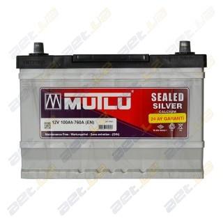 Mutlu Silver Calcium 100Ah JL+ 760A