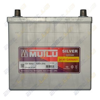 Mutlu Silver Calcium 56Ah JR+ 420A