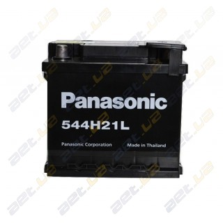 Panasonic (544H21L) 6СТ-50Аh R  460A