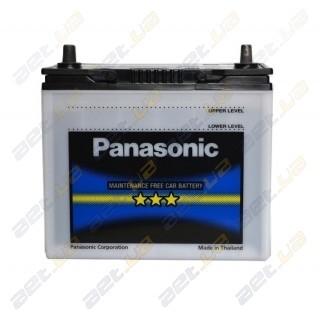 Panasonic (55B24R-FS) 45Аh JL+ 469A тонкая клемма