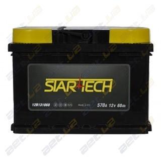 Startech 60Ah L+ 570A (низкобазовый)