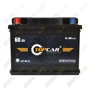 TOP CAR Expert 60Ah L+ 480A