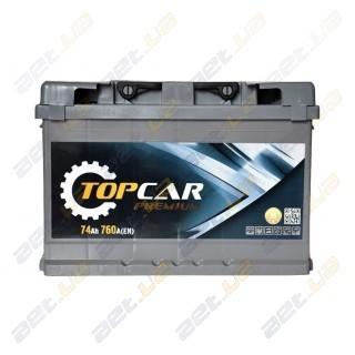 TOP CAR Premium 74Ah R+ 760A