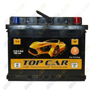 TOP CAR 60Ah R+ 540A