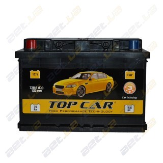 TOP CAR 74Ah L+ 720A