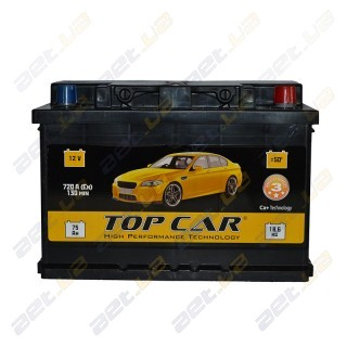 TOP CAR 75Ah R+ 720A