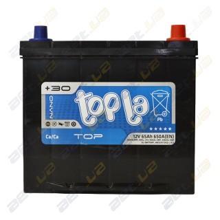 Topla TOP 65Ah JR+ 650A (EN)