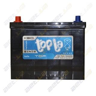 Topla TOP 75Ah JL+ 740A (EN)
