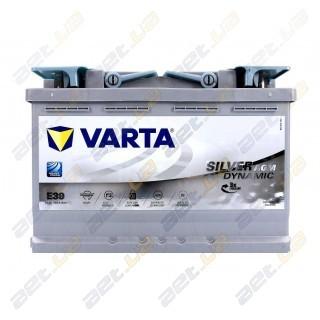 Автомобильный аккумулятор Varta 6СТ-70Ah R+ 760A Silver Dynamic AGM (E45), купить, цена, характеристики, фото