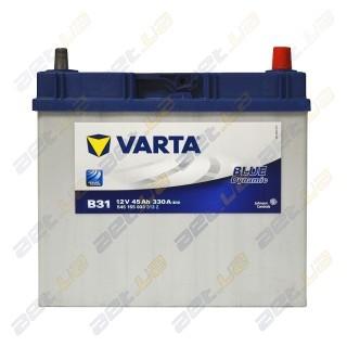 Автомобильный аккумулятор Varta 6СТ-45Ah JR+ 330A Blue Dynamic (B31) тонкая клемма, купить, цена, характеристики, фото