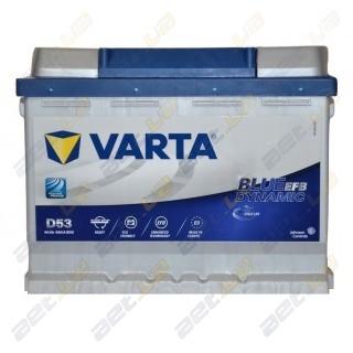 Автомобильный аккумулятор Varta 6СТ-60Ah R+ 560A Blue Dynamic EFB (D53), купить, цена, характеристики, фото