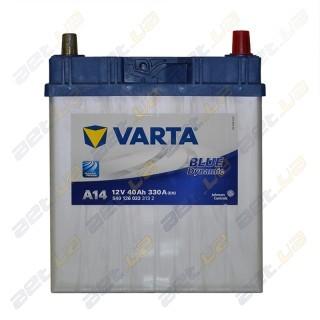 Автомобильный аккумулятор Varta 6СТ-40Ah JR+ 330A Blue Dynamic (A14), купить, цена, характеристики, фото