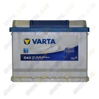 Автомобильный аккумулятор Varta 6СТ-60Ah R+ 540A Blue Dynamic (D24), купить, цена, характеристики, фото
