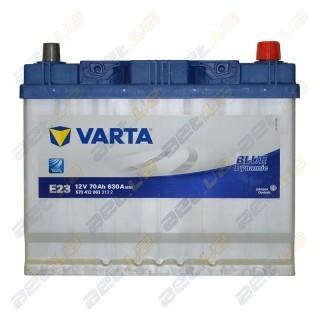 Автомобильный аккумулятор Varta 6СТ-70Ah JR+ 630A Blue Dynamic (E23), купить, цена, характеристики, фото