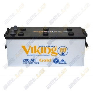 Viking Gold 200Ah L+ 1350A