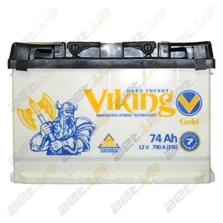 Viking Gold 74Ah L+ 790A