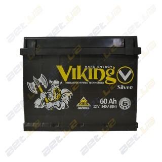 Viking Silver 60Ah R+ 540A