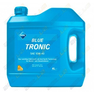 Моторное масло Aral Blue Tronic SAE 10W-40 4л