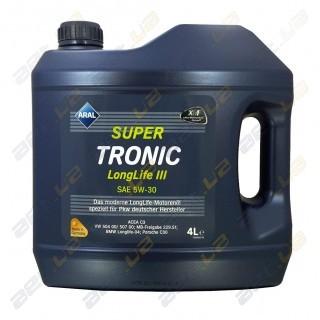Моторное масло Aral Super Tronic Longlife III SAE 5W-30 4л