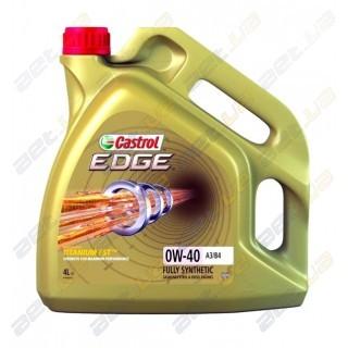 Моторное масло Castrol EDGE 0W-40 4л