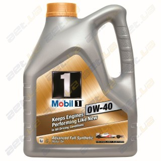 Моторное масло Mobil 1 New Life 0W-40 4л