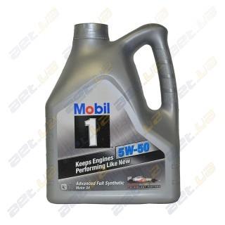 Моторное масло Mobil 1 Peak Life 5W-50 4л