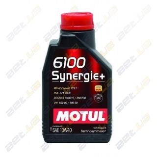 Моторное масло Motul 6100 Synergie + 5w40 – 1 л