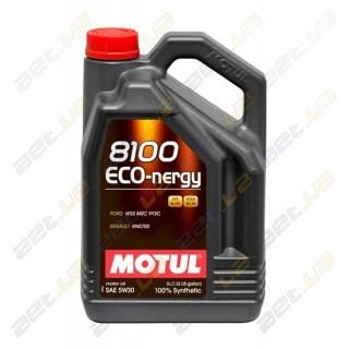 Моторное масло Motul 8100 Eco-nergy + 5w30 – 4 л