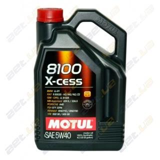 Моторное масло Motul 8100 X-cess 5w40 – 4 л