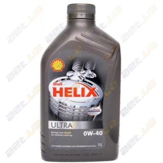 Моторное масло Shell Helix Ultra 0W-40 1л