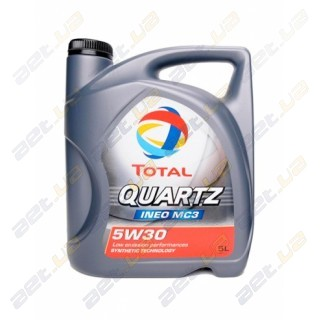 Моторное масло Total Quartz INEO MC3 5W-30 5л
