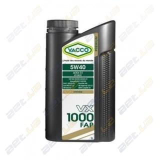 Моторное масло YACCO VX 1000 LL 5W40 – 1 л