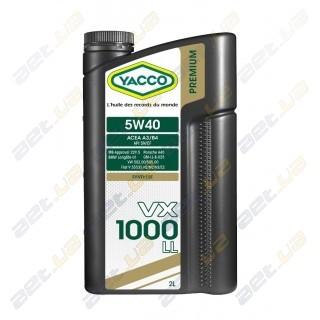 Моторное масло YACCO VX 1000 LL 5W40 – 2 л