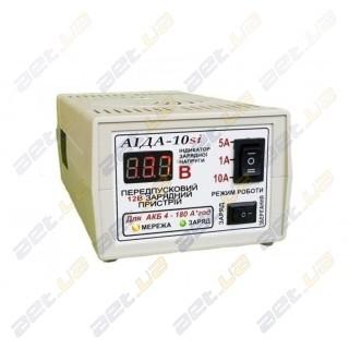 """Зарядное импульсное устройство """"АИДА-10si"""" 4-180 А*час с цифровым индикатором"""