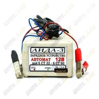 """Зарядное устройство автоматическое десульфатирующее """"АИДА-3"""""""