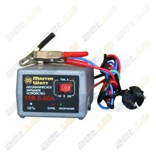 Автоматическое зарядное устройство MasterWatt 5-20А 12В