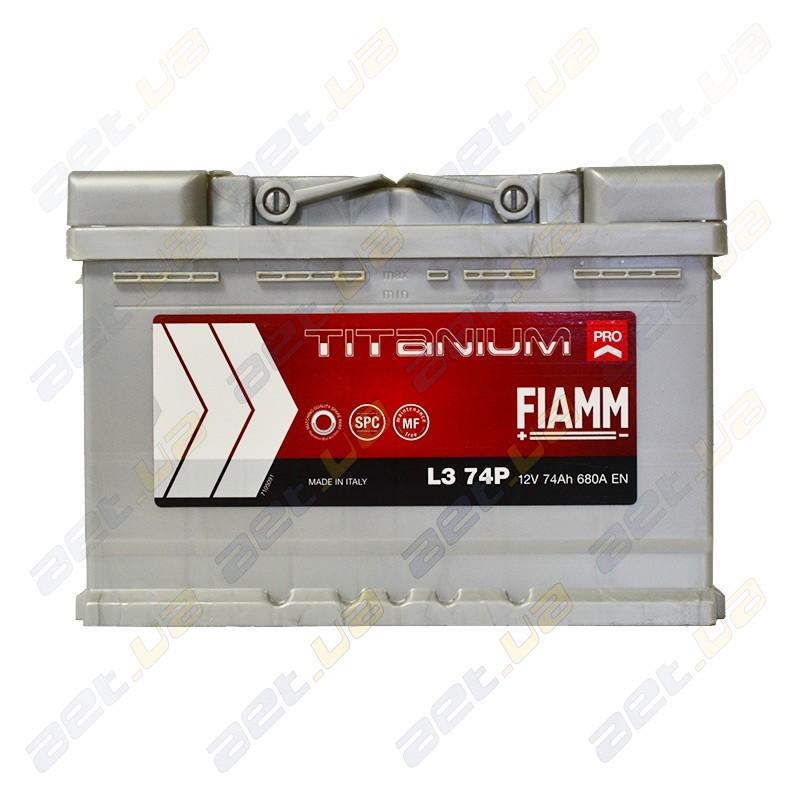 Аккумулятор Fiamm Titanium 74 Ah PRO